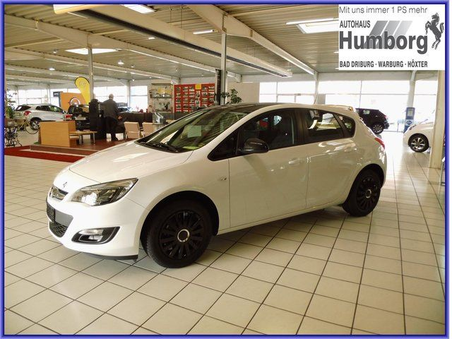 OPEL Astra Selection ''TAGESZULASSUNG ''Black Roof