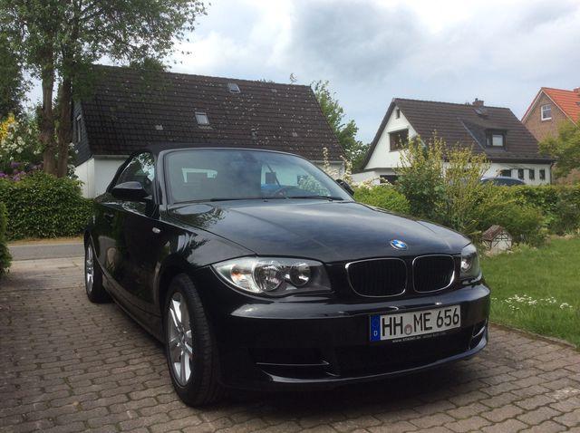 BMW 118i Cabrio wie neu - Leder-Klimaanlage-Scheckheft gepflegt-TÜV neu-