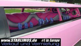 CHRYSLER 300 C Stretch limousine PINK
