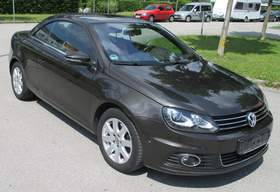 VW Eos 2.0 TDI DSG BlueMotion  ---XENON + NAVI + LEDER---