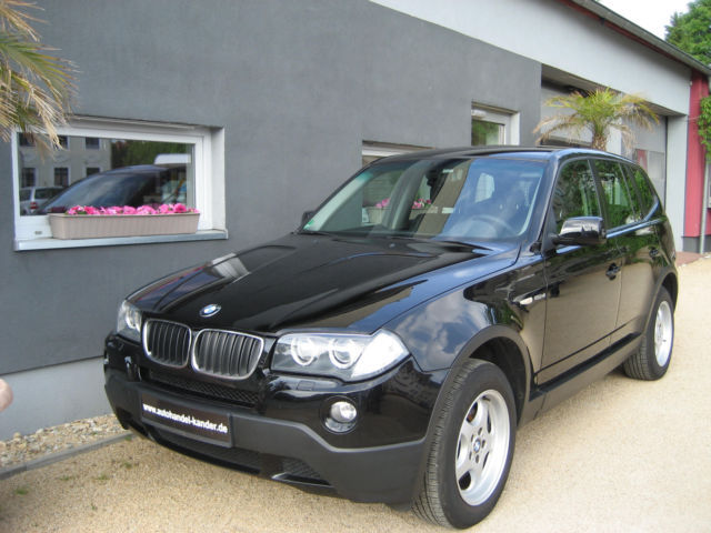 BMW X3 2.0d-AHK-WR-SR-ALLRAD-XENON-TÜV05/18-EURO-4-