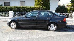 BMW 316i  safir-schwarz metallic  3/2002
