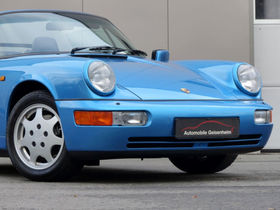 PORSCHE 964 Carrera 4 Cabriolet 33 TKM / 1.HD./ DEUTSCH