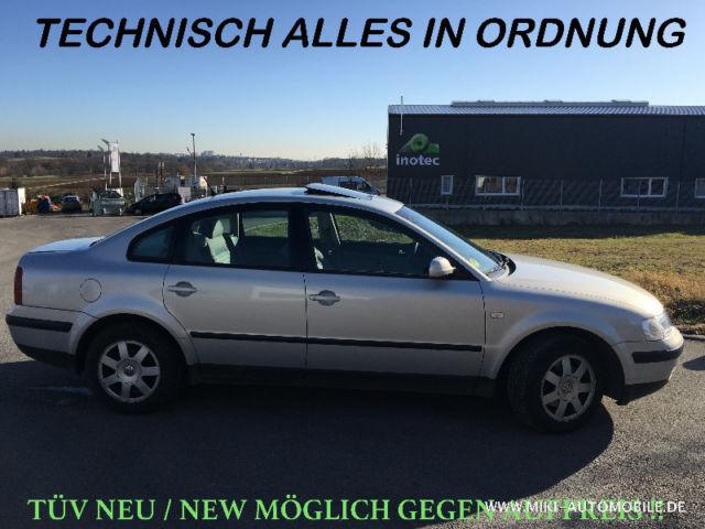 VW Passat 1,9 TDI-Edition-Euro-3 Kat/6 Gang/II-Hand