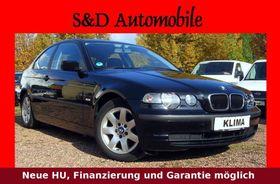 "BMW 316ti compact""Klimaanlage""Garantie""HU"