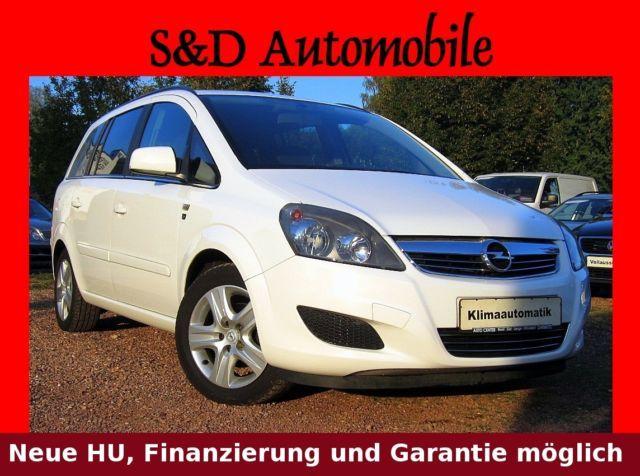 OPEL Zafira 1.8 Edition 111 - Benzin/Gas - 7-Sitze -