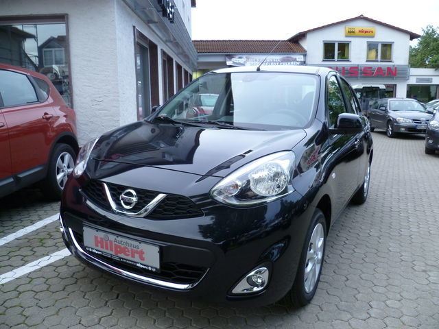 Nissan Micra Acenta 1.2 80PS -KLIMA-CD-ALU- Euro6