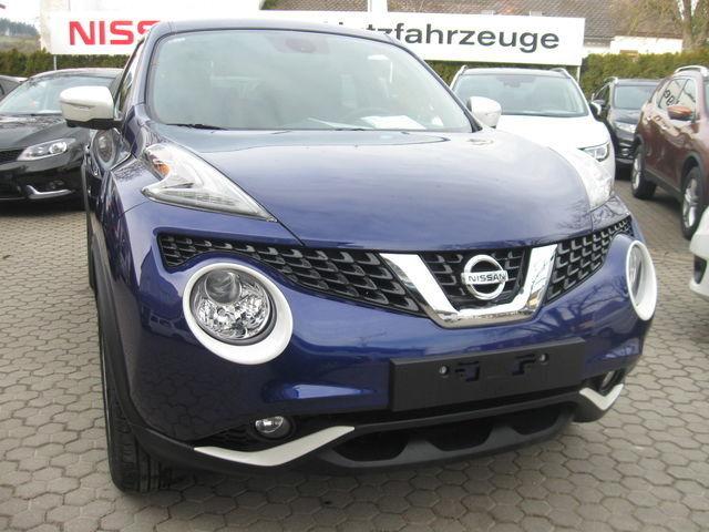 Nissan Juke N-Connecta 1.5 dCi Exterieur weiß Technolog