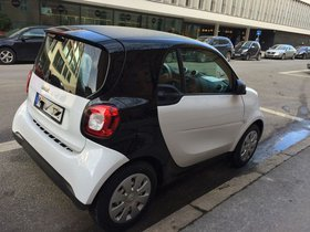 smart fortwo coupé (fast) niegelnagelneu - NUR 73km!!