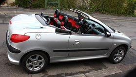 Peugeot 206 CC silber metallic