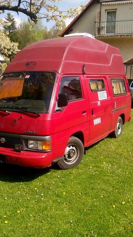 Nissan Urvan, Wohnmobilumbau