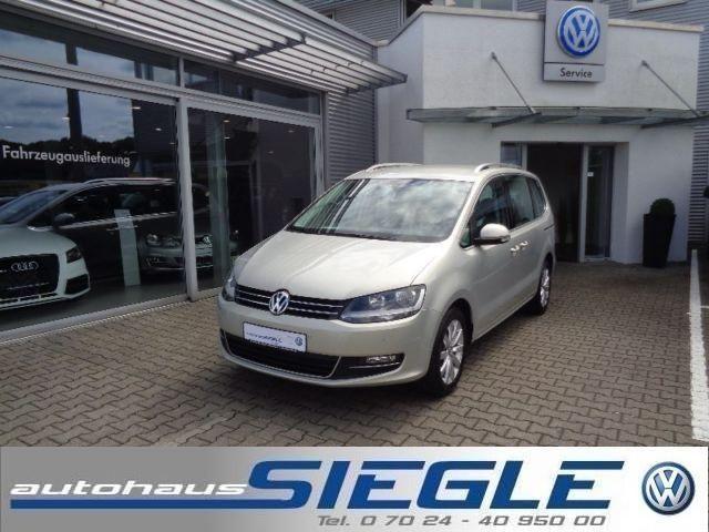 VW Sharan 2.0 TDI Highline-Navi-7-Sitze-Business
