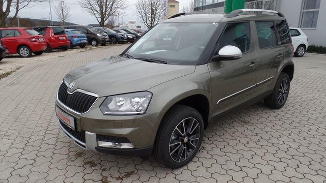 Skoda Yeti Outdoor 4x4 , 110 kW, Bi-Xenon, Navi, Adven