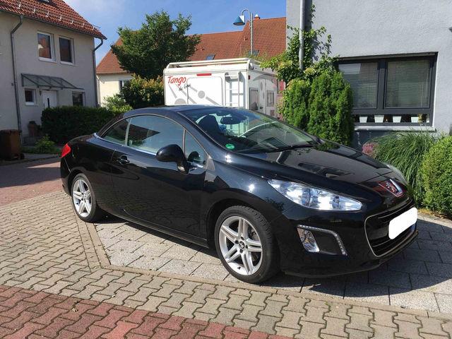 Peugeot 308 CC 1.6HDI Diesel -02.2012- 1Hd. 23TKM - Vollausstattung