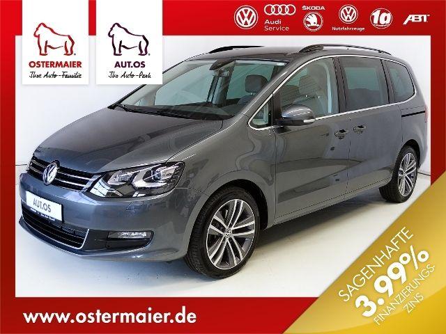 VW Sharan COMFORTLINE 2.0TDI 150PS DSG 7SITZE,18'AL