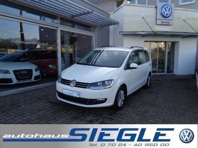 VW Sharan 2.0 TDI Comfortline-DSG-6-Sitze-Navi-PDC
