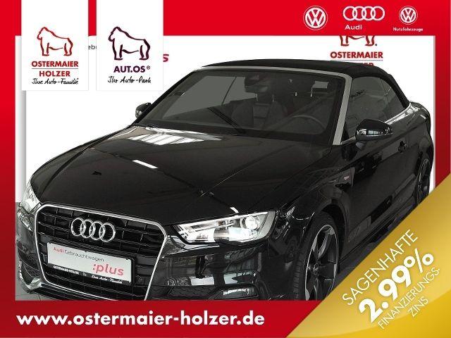 Audi A3 Cabriolet S-LINE 2.0TDI S-TRONIC+ExP LEDER,NA