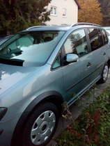 VW Touran Cross 7 Sitzer