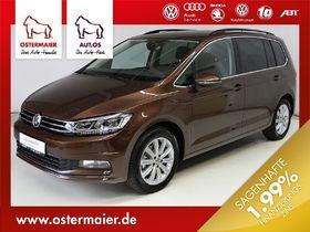 VW Touran Highline 2.0TDI DSG 7SITZE ACC,AHK,LED,NA