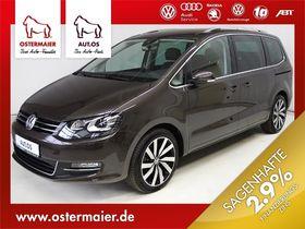 VW Sharan Highline 2.0TDI DSG 7SITZE ACC,AHK,XENON,