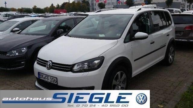 VW Touran 2.0TDI Cross-DSG-Navi-Xenon-Standheizung