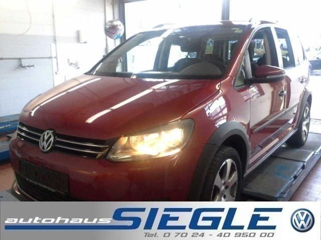 VW Touran 2.0 TDI DPF Cross-7-Sitze-PDC-ALU