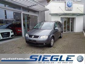 VW Touran 1.9 TDI 7-Sitze-Navi-Standheizung-AHK