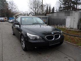 BMW 535d -Leder-Rotorange-Navi-Xenon-PDC-