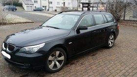 BMW 525d, 6 Zylinder, Automatik, Lederausstattung, Navigationssystem