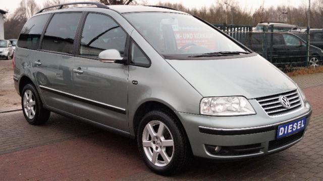 VW Sharan 1.9 TDI 131 PS Comfortline 7 Sitzer Navi