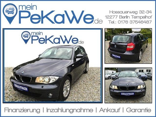 BMW 118 i|NAVI PROF|XENON|PDC|SCHECKHEFT