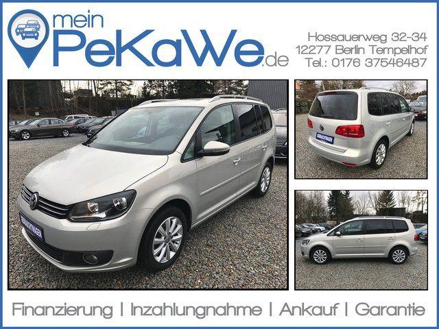 VW Touran 2.0TDI Highline DSG|NAV|STANDH|ALCANTARA