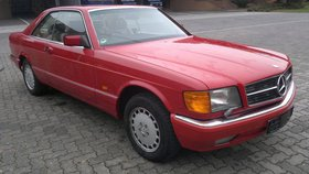 Mercedes-Benz 500 SEC Rechtslenker Rarität