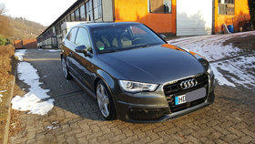 Audi A3 8V S-Line S3 Optik Vollausstattung 2016 Standheizung DAB+ B+O