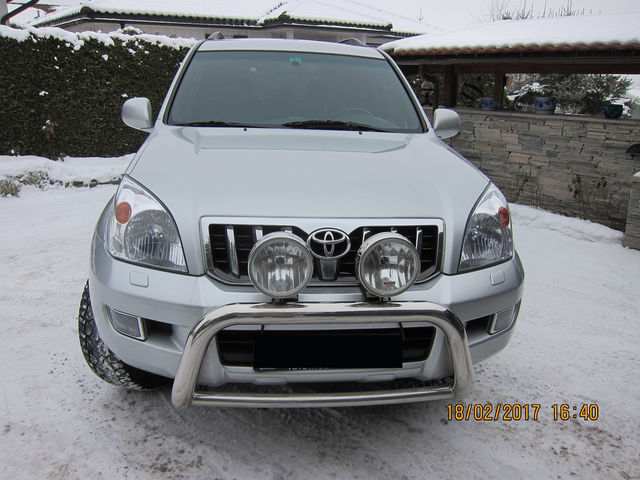 Toyota Land Cruiser D-4D Aut Executive Leder Navi 5 Sitzer