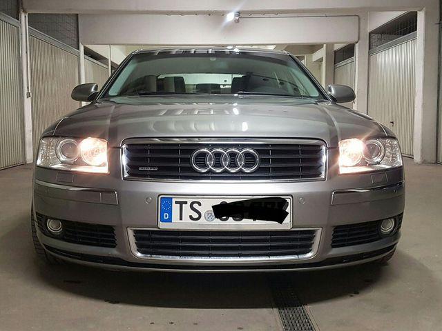 Audi A8 3.7 Quattro - TÜV 0518 - ABT - 19 Zoll - Scheckheft - BOSE - XENON