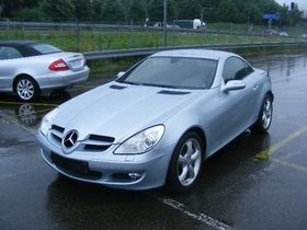 Mercedes-Benz SLK 350  Cabrio -NAVI-1.HAND-7.000KM!