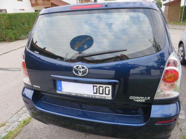 Toyota Corolla Verso,Benzin,  Automatik, 7 Sitzer, Garagenfahrzeug, 94000 KM,