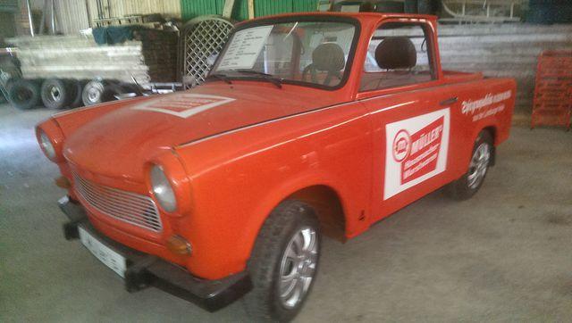 Werbe-Cabrio Trabant 601