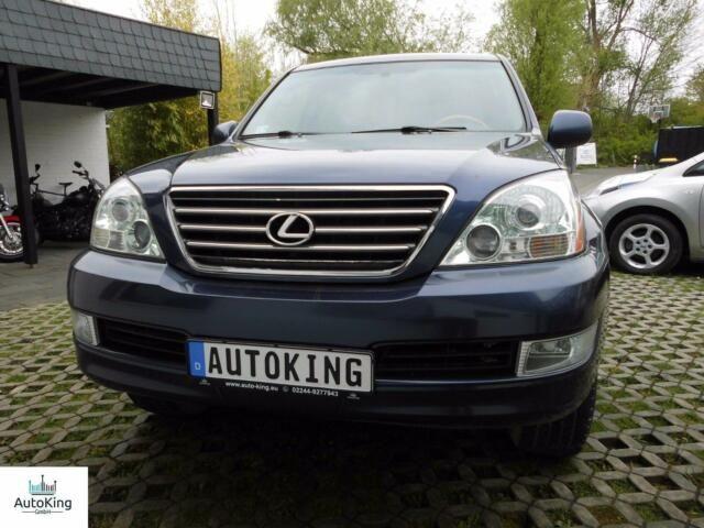 LEXUS GX 470 SUV-AHK-MFL-Schiebedach