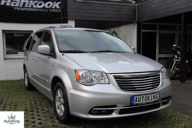CHRYSLER Town & Country Grau|Leder schw.|LPG Gas Anlage