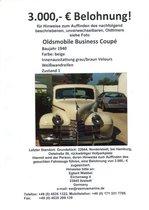 Oldsmobile Business Coupé gesucht