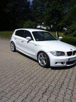 BMW 118d M Paket Navi Xenon Weiß Leder