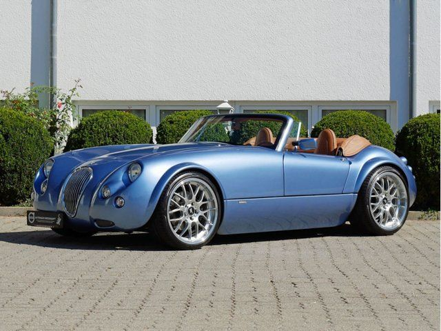 WIESMANN MF 3 Roadster-SMG-Blau-Metallic/Braun-Kälte