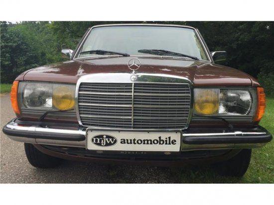 MERCEDES-BENZ 280 E W123 LIMOUSINE-AUTOMATIK-ORIGINAL