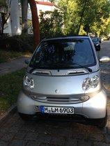 Smart cabrio Passion for two