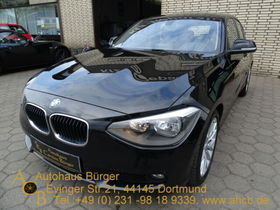 BMW 118d Navi Sportfahrwerk PDCv+h PDC SD AHK AHK-ab