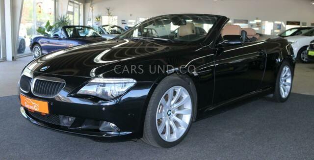 BMW 630i Cabrio -Head Up-Xenon-Navi-SHZ-Leder-