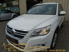 VW Tiguan Team 4Motion 8-Fachbereift Navi AHK PDC G