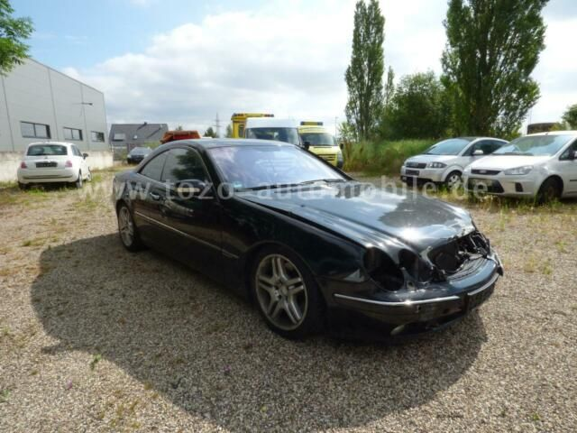 MERCEDES-BENZ CL-Coupe 600-S-DACH-ROLLO-MEMORY-AMG-UNFALL-